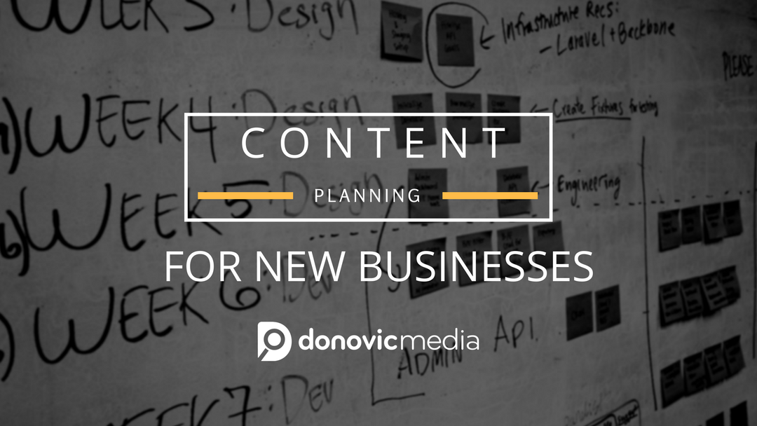 Content Planning for New Businesses