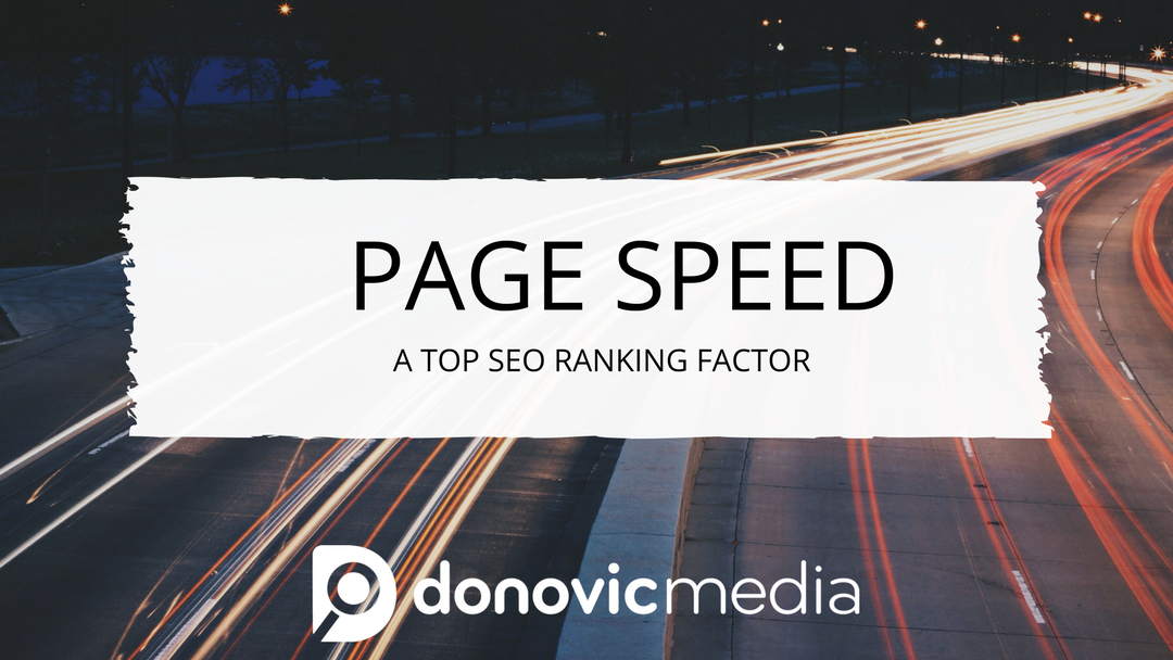 Page Speed: A Top SEO Ranking Factor