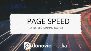Page Speed A Top SEO Ranking Factor