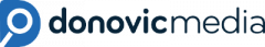 Donovic Media Head Logo