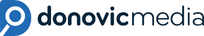 Donovic Media Head Logo